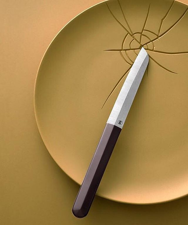 WEBSTA @ designmilk - On designmilk.com: @pinchfooddesign takes a look at some new #utensil #designs, including the inaugural launch of #CédricRagot's collection of specialty #knives designed for #MaisonHenrimazelier, fourth generation #knife maker from Thiers, France.