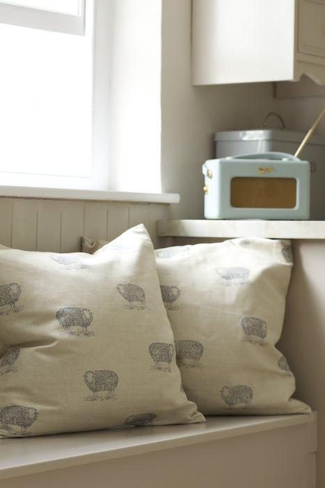 Sheep Fabric - Sheep - Farmyard - Collections - Emily Bond