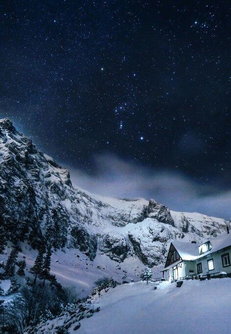 Bucegi Mountains in January