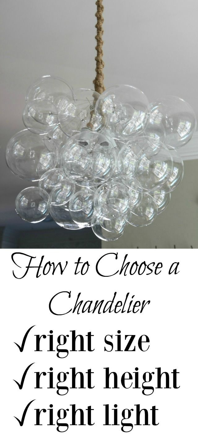 79 best lighting ideas images on pinterest lighting ideas learn how to choose the right light with these chandelier buying tips from hanging height to size to necessary wattage these lighting tips spell it out arubaitofo Image collections