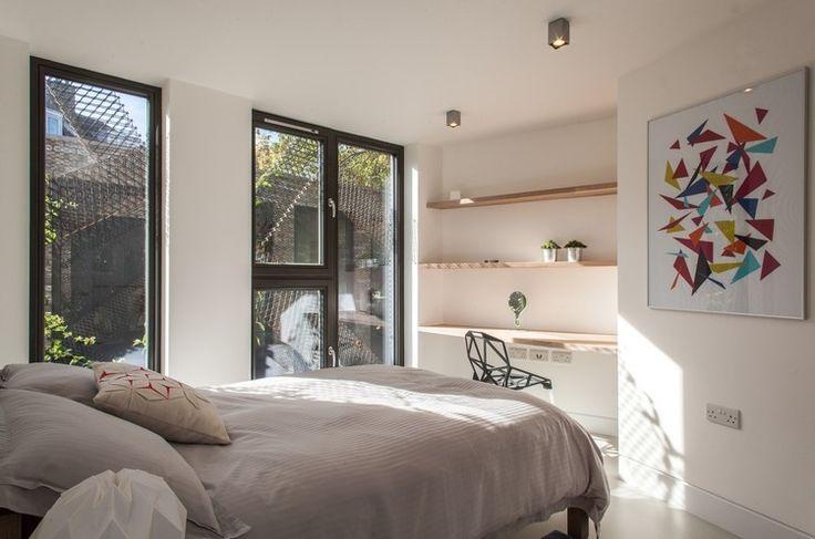 ... Chambres grises, Chambre grise blanche et Décor de chambre à coucher