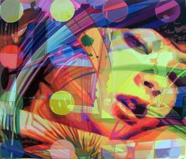 "Saatchi Art Artist Utin Rini; Painting, ""Tangerine"" #art"