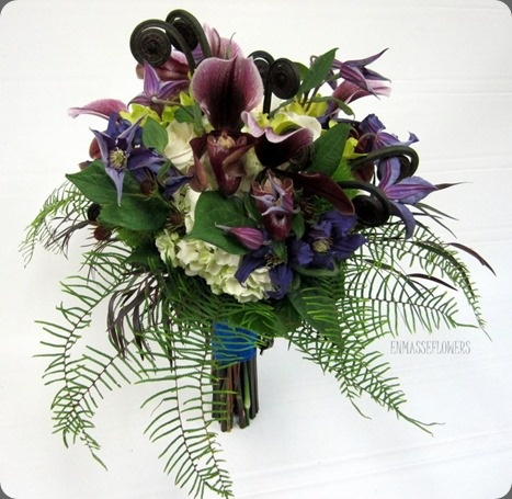 Different Shade Of Purple But Interesting Combination Woodsy Tropical Might Work To Combine Wedding Look With Venue