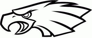 how to draw the Philadelphia eagles logo