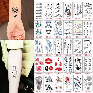 30 Tatuaggi adesivi Altro Non ToxicNeonato Bambino Da donna Da uomo Teen Tatuaggio temporaneo Tatuaggi temporanei del 5592652 2017 a €4.99