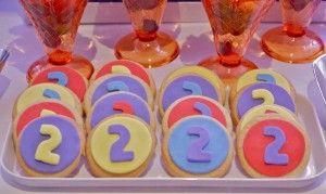 Number 2 cookies