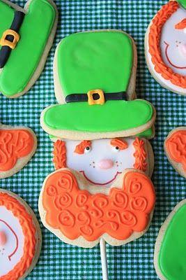 Leprechaun Beard Cookies By Craft Gossip