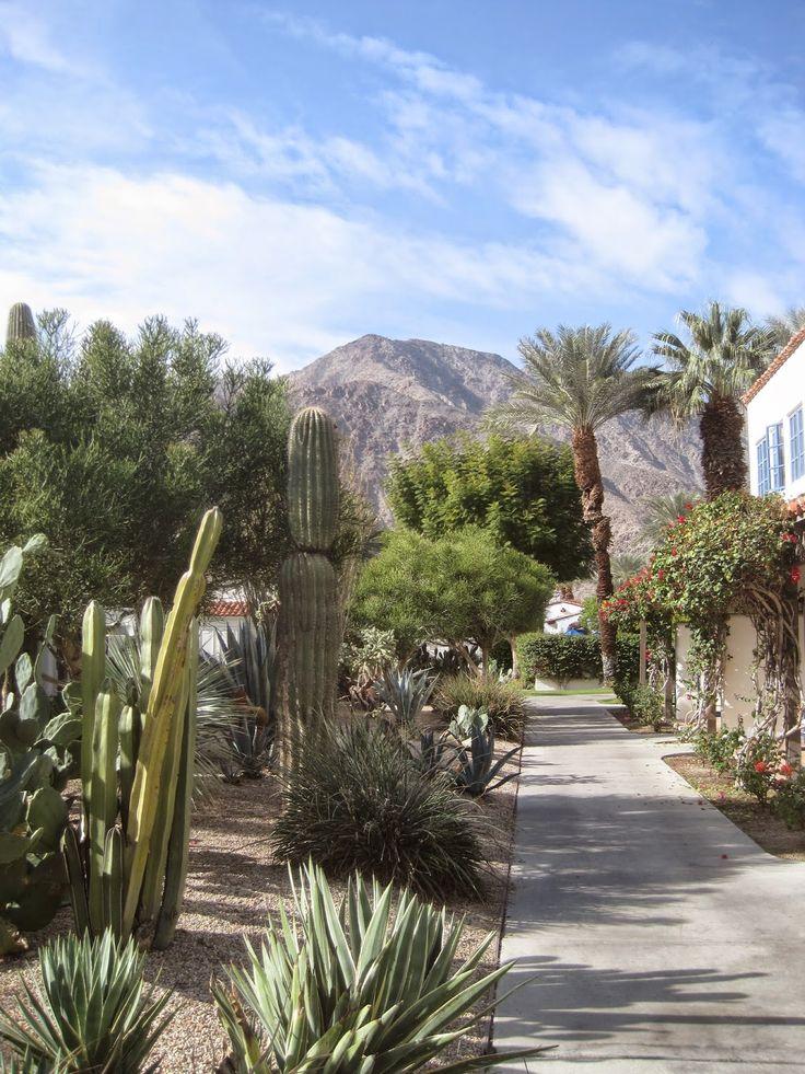 desert garden at La Quinta resort via architect design™
