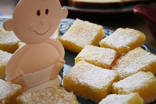 Creamy Lemon Bars recipe  A nice sugar-free diabetic dessert recipe that resembles the classic lemon pie.