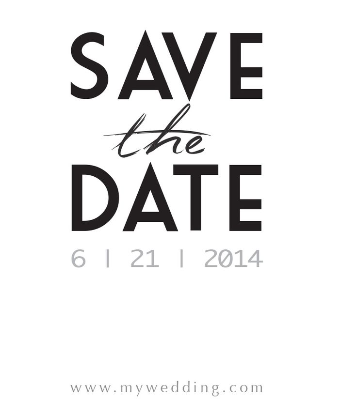 Madeline Save the Date La Luxe Stationery