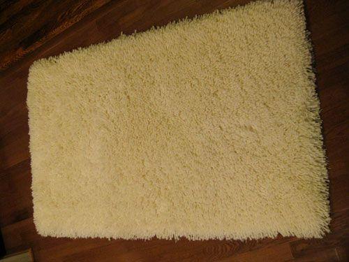 feeling sheepish making a faux sheepskin rug part 1