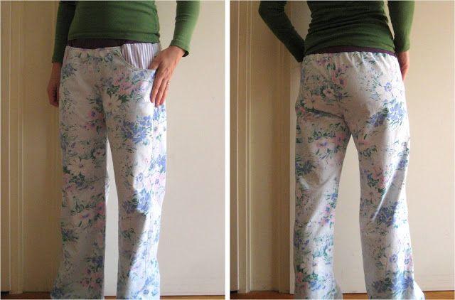 Pyjamabroek maken