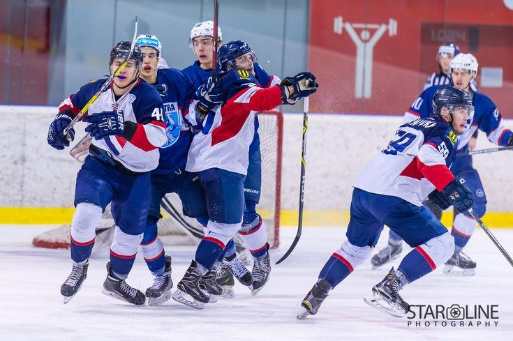 Hokejový zápas juniorov medzi HC Slovan Bratislava a MMHK Nitra #hcslovan #mmhknitra #vernislovanu #playoff #extraligajuniorov #hokej #icehockey