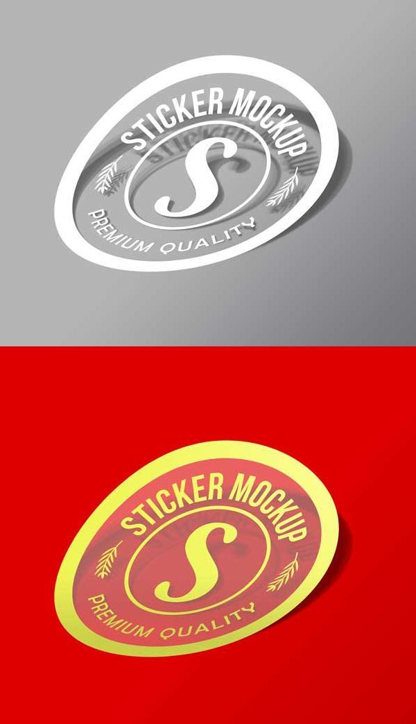 Free Sticker Mockup Psd Design Mockup Free Free Graphic Design Mockup Free Psd