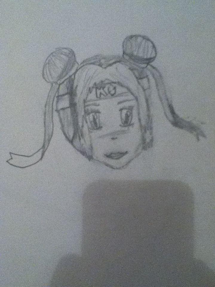 a manga girl