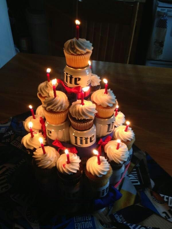 Beer Cake For My 21st Birthday Cool Stuff Pinterest