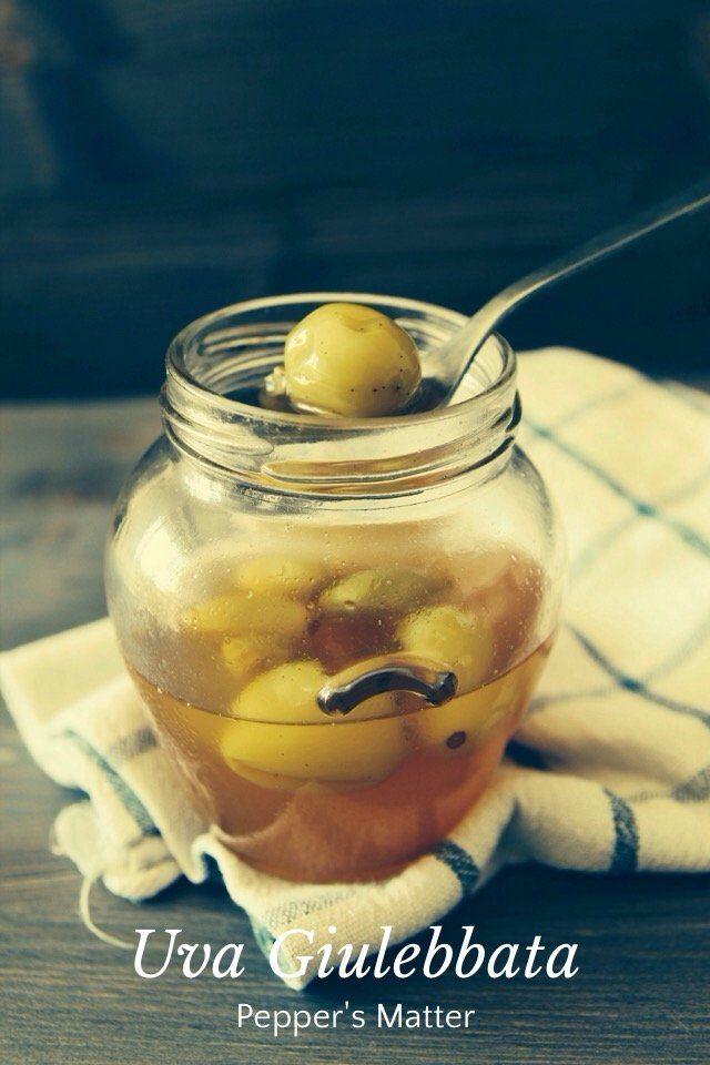Uva Giulebbata Recipe http://peppersmatter.wordpress.com/2014/10/06/yogurt-greco-ed-uva-giulebbata-iniziano-le-conserve/