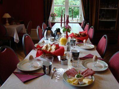 Petite déjeuner au Château