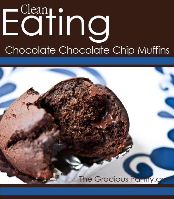 Clean Eating Chocolate Chocolate Chip... Made these minus cocoa powder and pepper and used unbleached white WWF. YUMMY!!