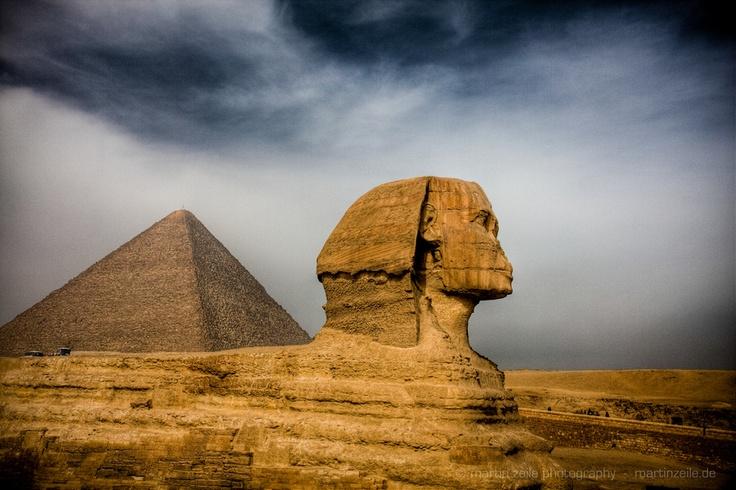 Sphinx & Pyramid - Egypt