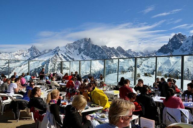 Altitude Restaurant, Chamonix Mont Blanc, French Alps