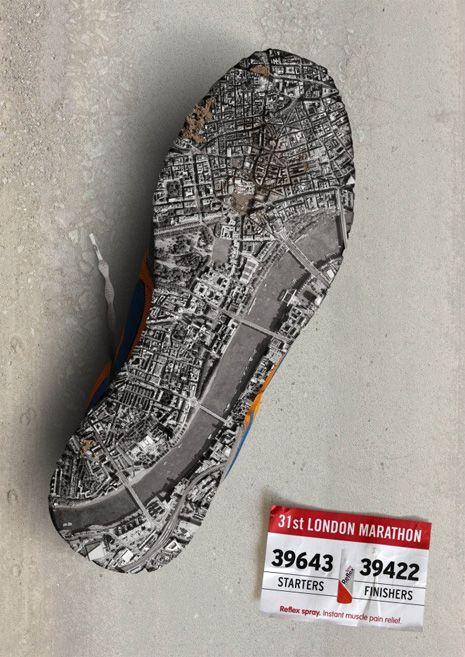 campagna pubblicitaria per la Maratona di Londra. #ad #LondonMarathon
