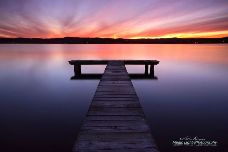 Photo Green Point Jetty Sunset May by Kevin Morgan on 500px