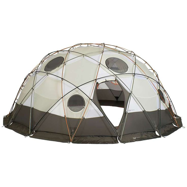 Mountain Hardwear Stronghold 10 Person Tent - at Moosejaw.com $3750. No camp stove vent. Would have to rig one.