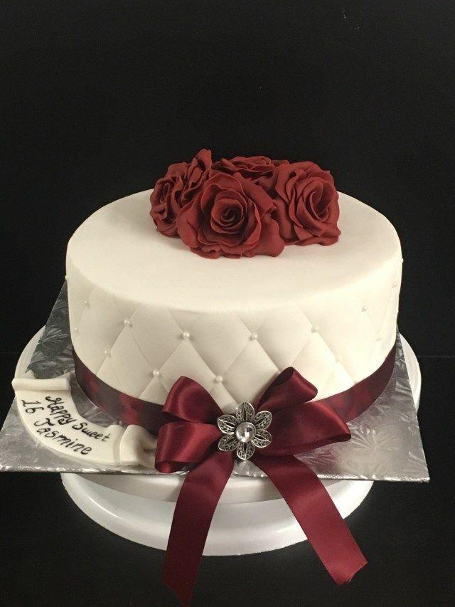 30 Elegant Picture Of Female Birthday Cakes Female Birthday