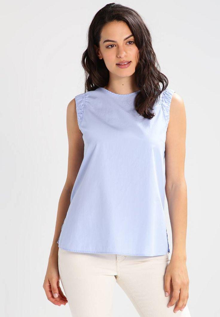 BOSS Orange. CITRAVEL - T-shirt con stampa - open blue. #celeste #bluchiaro #celestecartadazucchero #zalandoIT #fashion #moda Avvertenze:Lavaggio a mano. Composizione:100% cotone. Lunghezza totale:64 cm nella taglia 42. Lunghezza:lunghezza normale. Chiusura:Bottoni. Larghezza dello schienale:33 cm nella taglia 42. Scollo:...