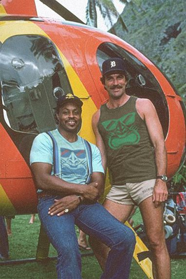 Magnum and TC..... my serious 80's crushes.... well, Magnum is STILL my crush!!!