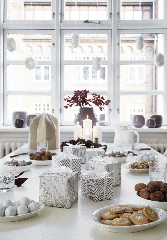 Un Noël blanc et poétique