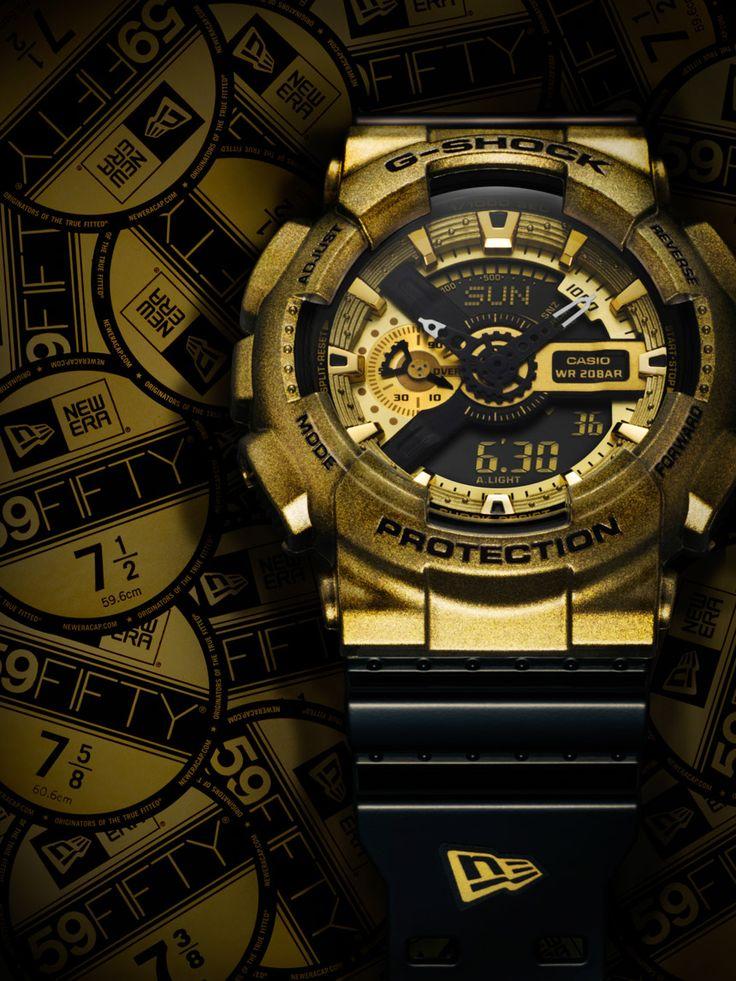G-Shock x New Era Collaboration GA110NE-9A