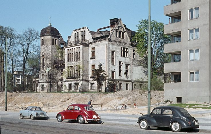 1960er West-Berlin - Bundesallee, nördlich der Berliner Straße (© Heinz Noack/Tobias Hellmann). ☺