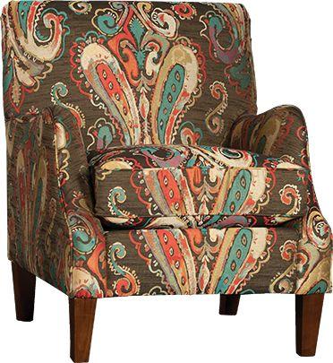 Mayo Furniture 9260 Fabric Chair   Flamboyant Red