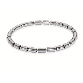6156011 - Bracalet.  25 links Ø 5 mm.   Stainless steel.  Length approx. 200 mm / 8 inch.  Solid.