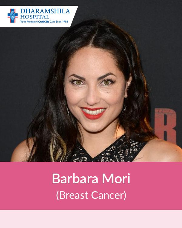 Barbara Mori, apart from being a successful actress internationally, is also a cancer survivor. Not a lot of people are aware that Mori had undergone a surgery to remove tumor from her breast in 2009. She is healthy and back to doing her work.