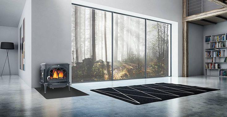 Jøtul F 500 Hot very hot! Wood stove with classic design.