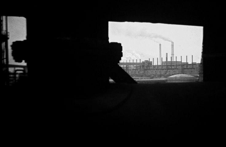 Karbonizační pece ještě v provozu - 1970