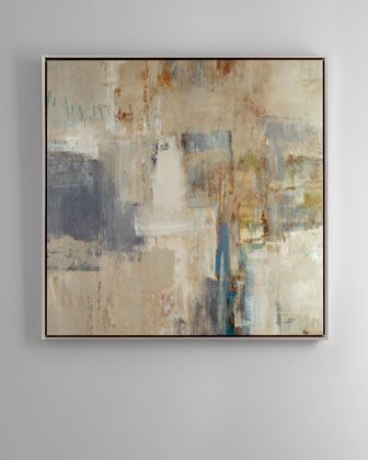 """""""Rendezvous"""" Abstract Giclee at Neiman Marcus."""