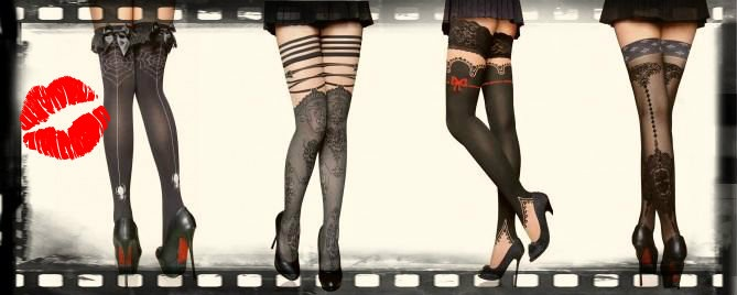 Ciorapi cu Model Fashion