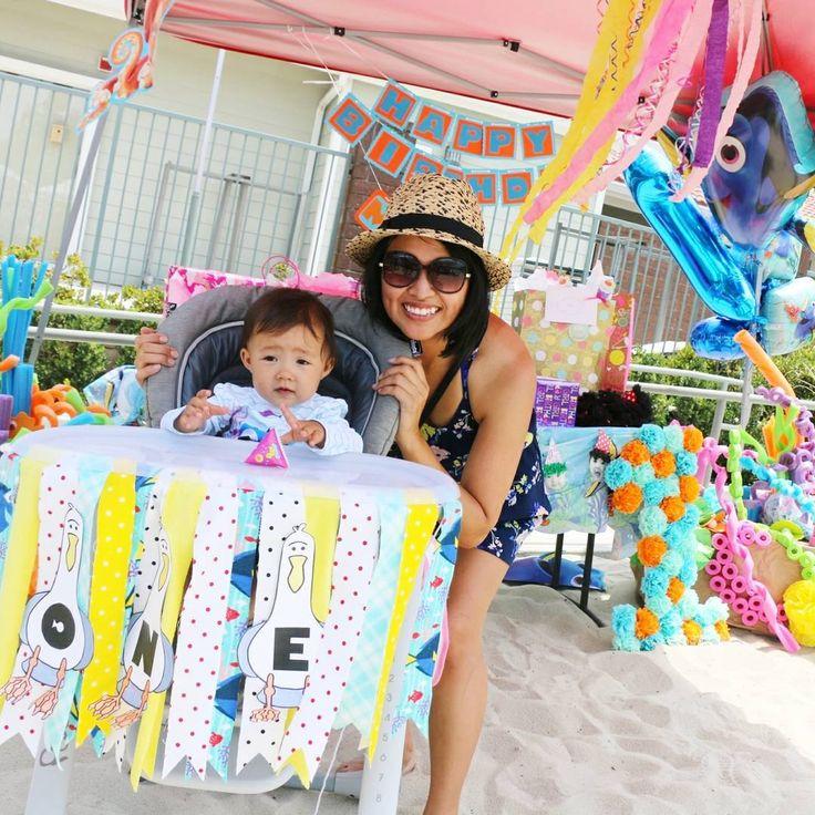 Happy Birthday, to our daughter, Mia���������� 無事にミアの誕生日会終わりました��ドリー、ニモがテーマでunder the seaな感じをを作りました!他の人にパーティー経営してると間違われた��������パーティービジネス立ち上げたいド素人です。笑  # happybirthday #findingnemo #findingdory #disney #theme #party #event #eventplanner #party #birthday #birthdayparty #beachparty #disneybaby #diyparty #手作りパーティー #誕生日会 #ニモ#ドリー #ディズニー #パーティーテーマ #パーティー #誕生日 #ハーフベビー #コドモノ #ママリ #コドモダカラ http://butimag.com/ipost/1561379625879155088/?code=BWrIn9IDzGQ