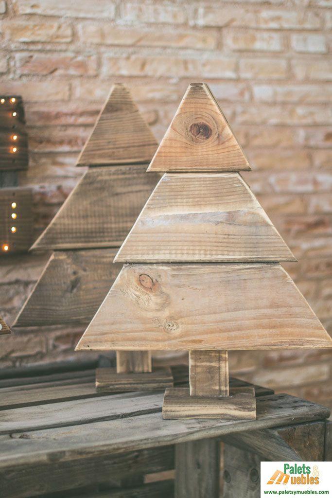 17 mejores ideas sobre rboles de navidad de madera en - Arboles de navidad de madera ...