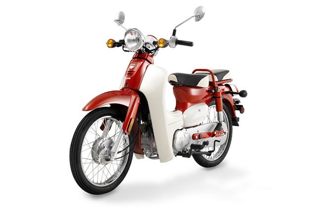 look like a honda super cub   its Symba  SYM taiwan.
