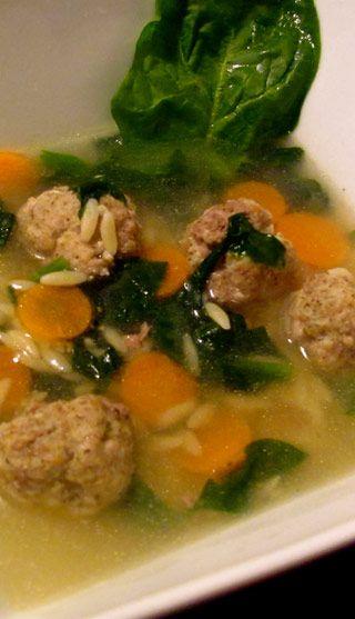 Soupe de noces italiennes