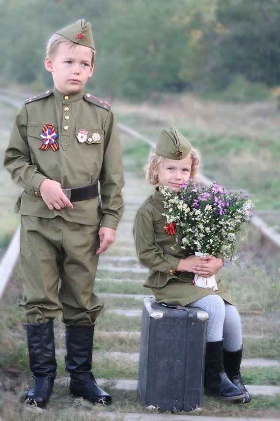 Дети в военных формах картинки
