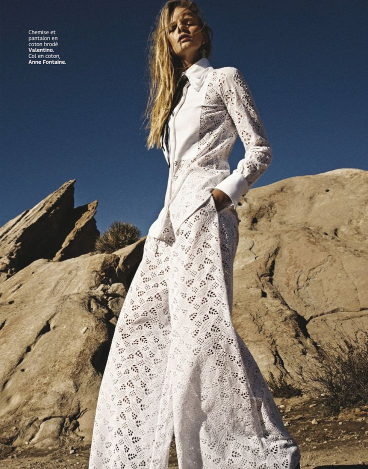 #MarloesHorst by #Vanmossevelde+N for #GraziaFrance February 2015