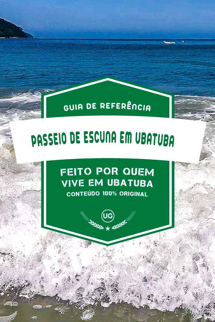 Passeios De Escuna Em Ubatuba Guia De Referencia Ubatuba Ilhas