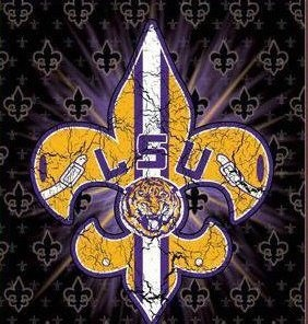 LSU football - LSU TIGERS - LSU TIGERS colors purple & gold - Louisiana State University