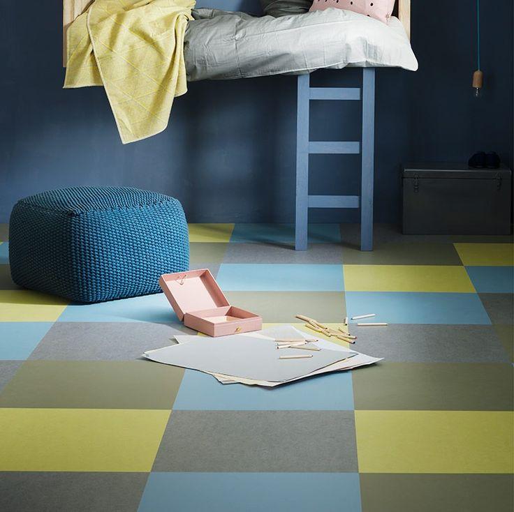 Выбираем линолеум под плитку: особенности дизайнерской имитации и 80+ максимально комфортных вариантов http://happymodern.ru/vybiraem-linoleum-pod-plitku/ Детская комната в спокойных сине - зеленых тонах Смотри больше http://happymodern.ru/vybiraem-linoleum-pod-plitku/